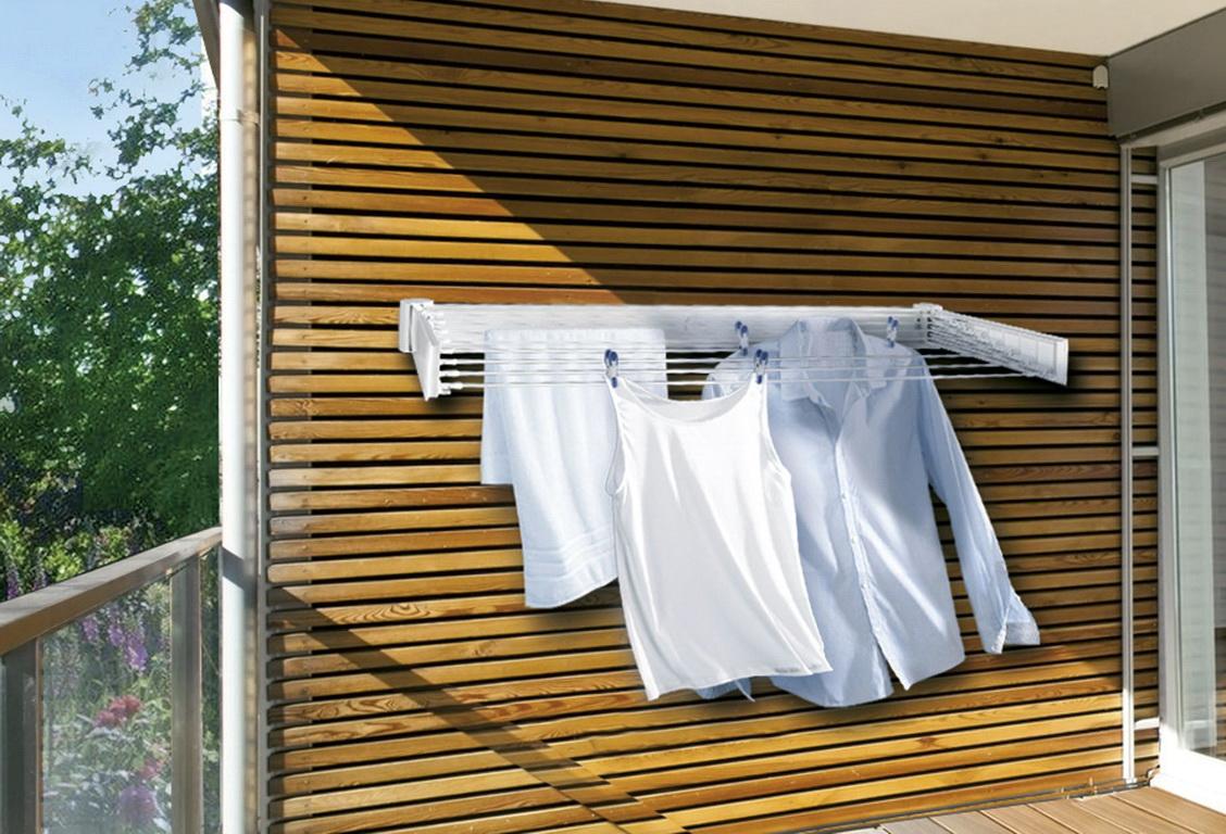 Сушилка на балкон - 95 фото безупречных вариантов дизайна.