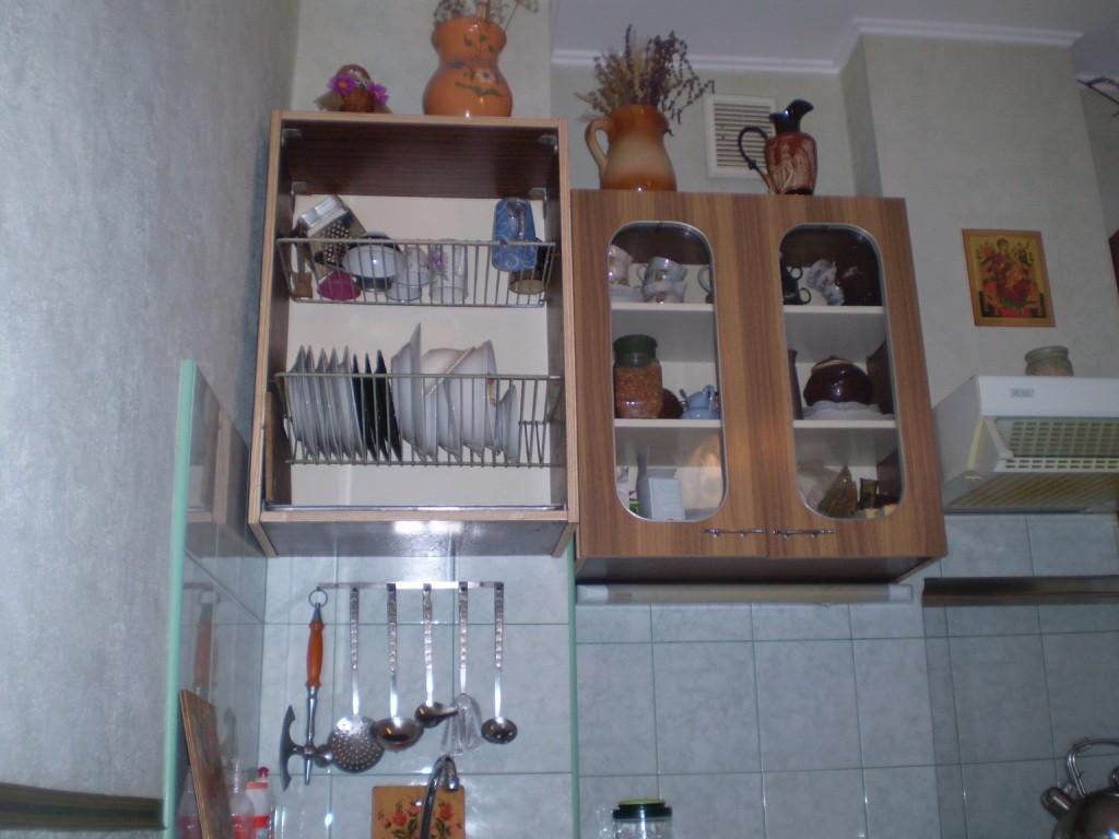 Навесной шкаф для посуды на кухню своими руками 95