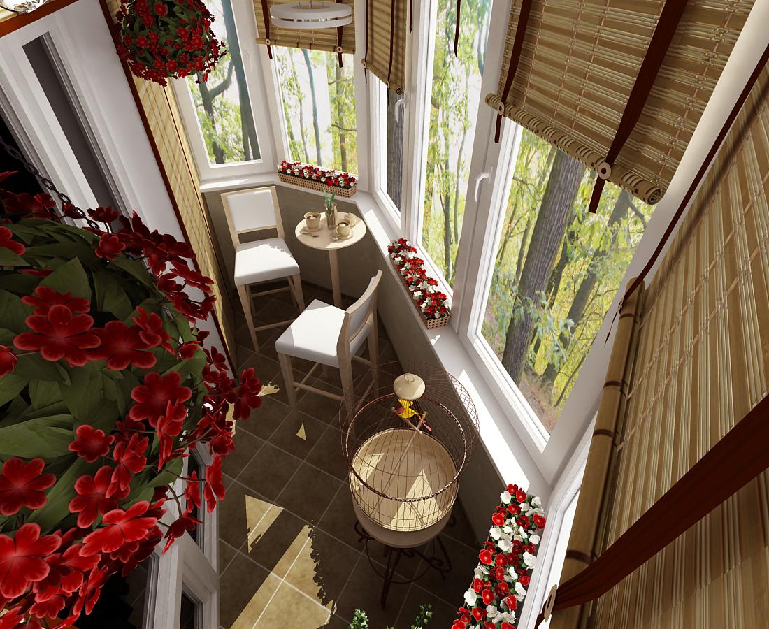Дизайн балкона - самое интересное в блогах.
