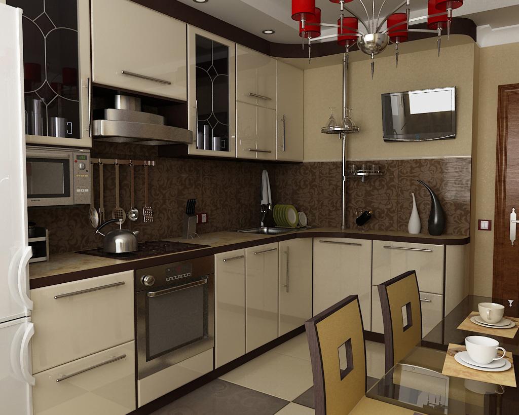 Дизайн угловой кухни 9 кв м - houzz.ru