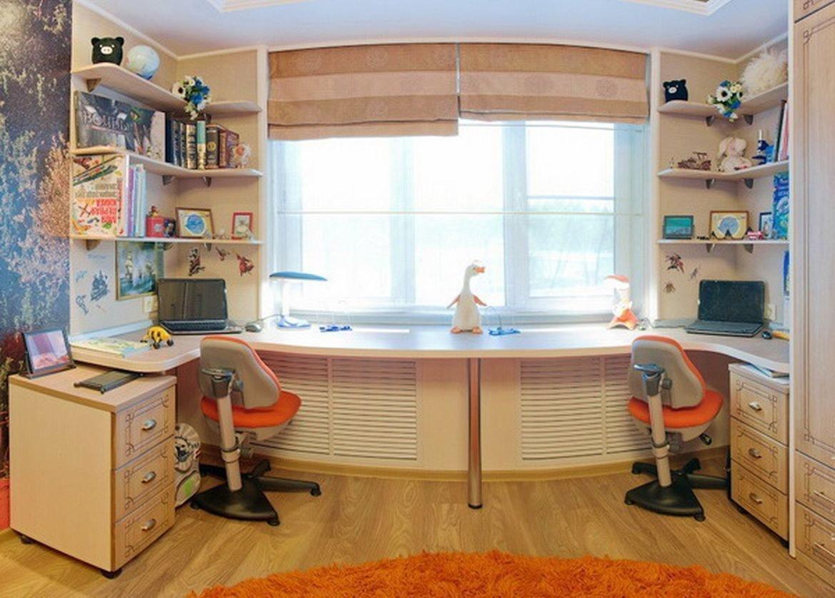 Каким может быть стол-подоконник в детской? фото, плюсы и ми.