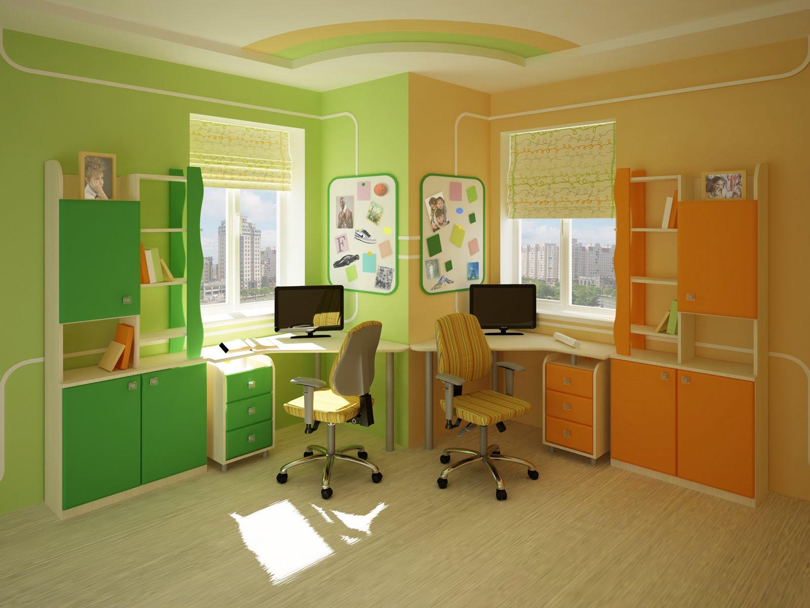 угловой письменный стол для двоих детей 38 фото детский