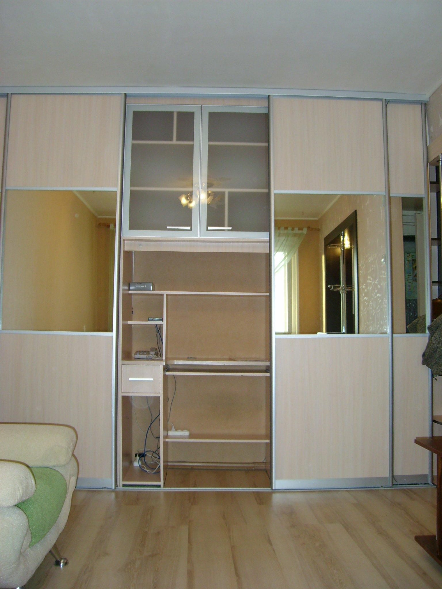 Шкаф-купе в спальной комнате, варианты с фото денис серов.