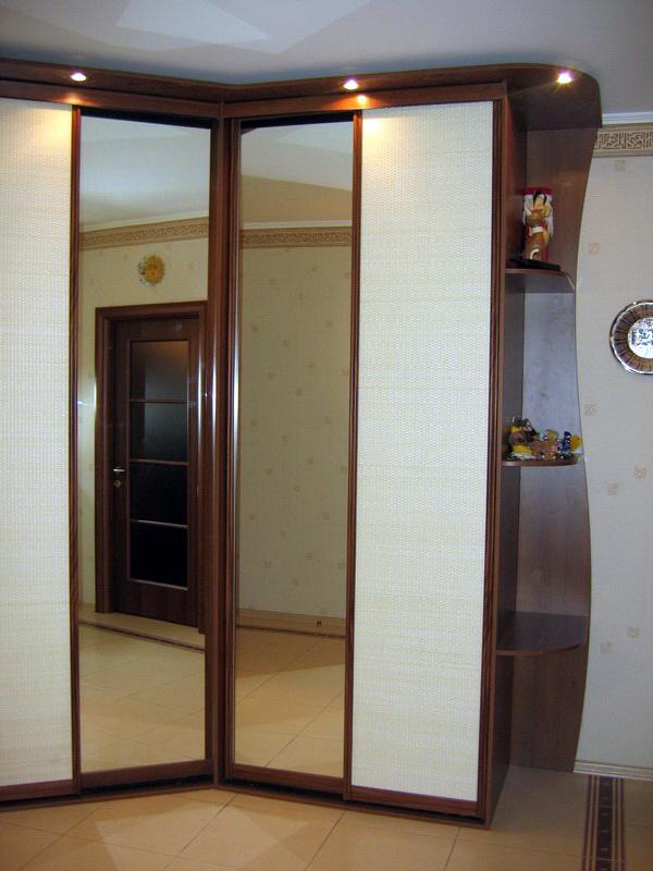 угловой встроенный шкаф купе 55 фото встраиваемый радиусный шкаф