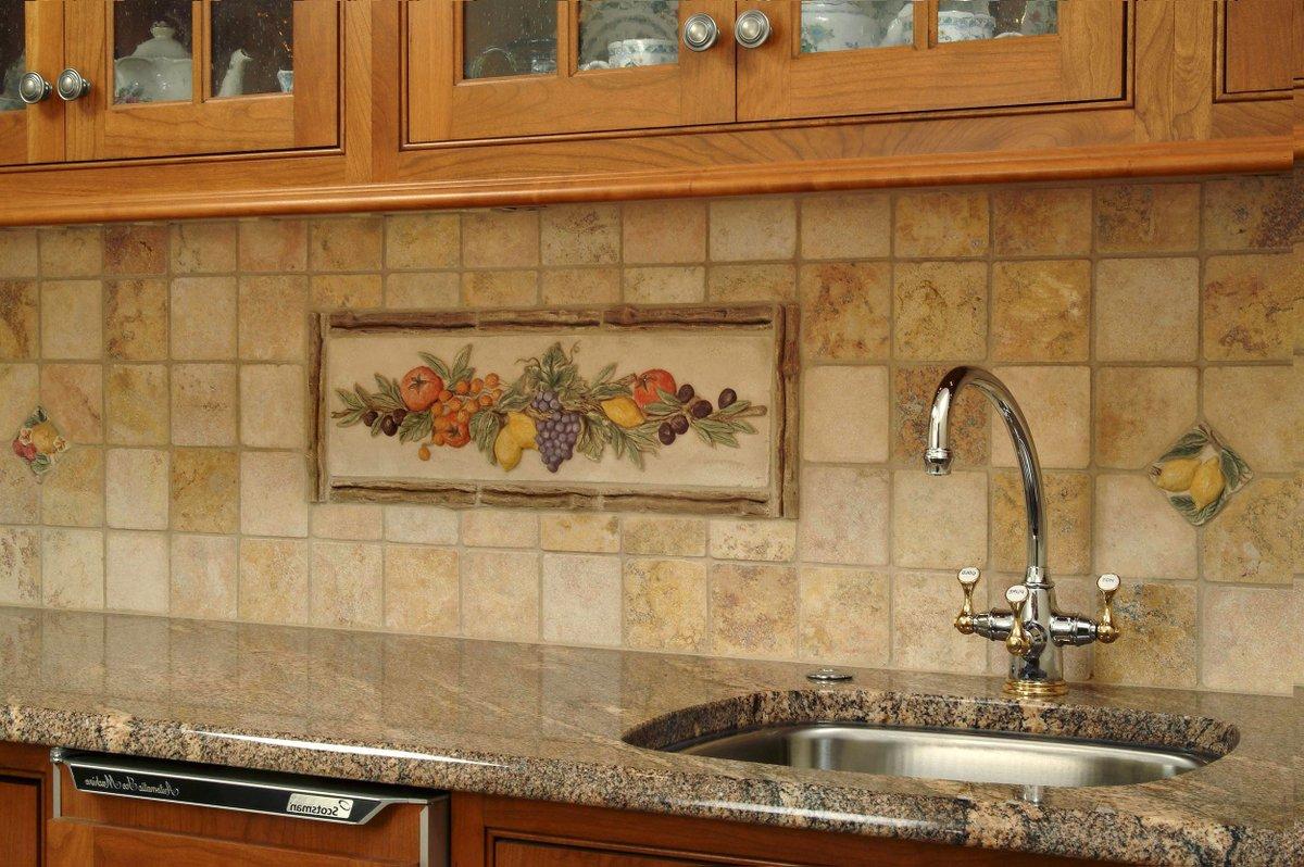 Дизайн фартука для кухни из плитки