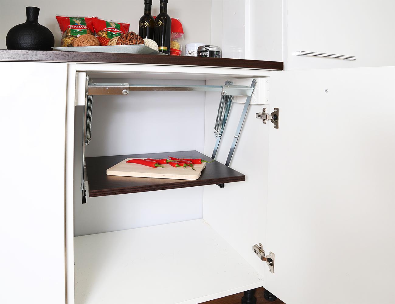 Узкие кухонные шкафы (40 фото): высокий напольный и выдвижно.