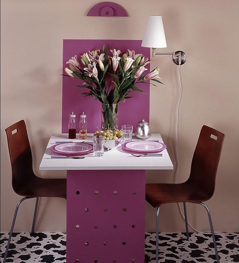 Подвесной стол на кухню своими руками