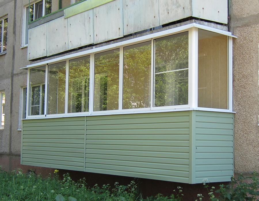 Фурманов отделка балконов.