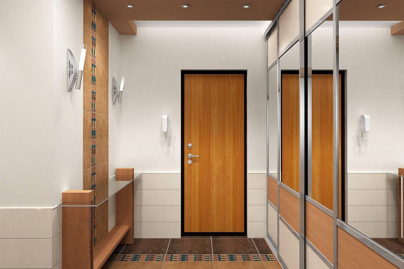 100 лучших идей дизайна стен в прихожей и коридоре на фото 720