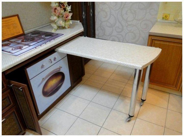 Поворотная столешница для кухни