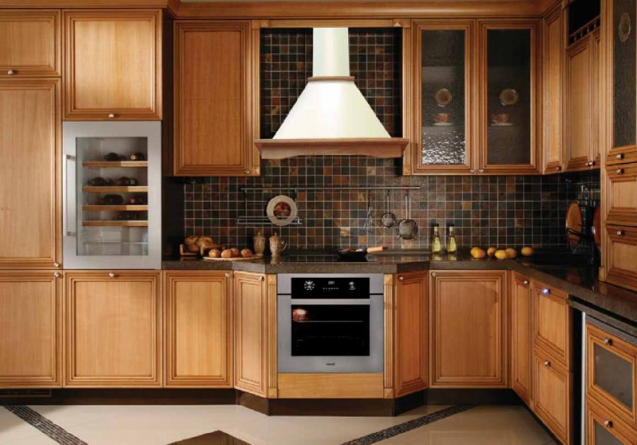 Фото вытяжки кухонные в интерьере