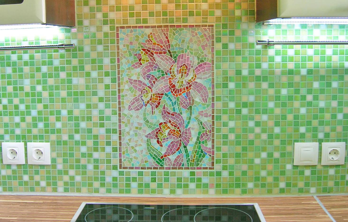 Как выложить плиткой кухонный фартук своими руками