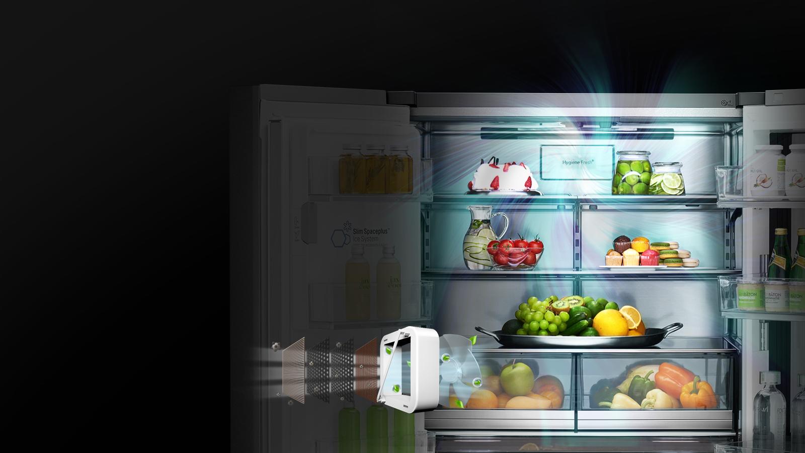LG Help Library Frost Buildup  Refrigerator  LG USA
