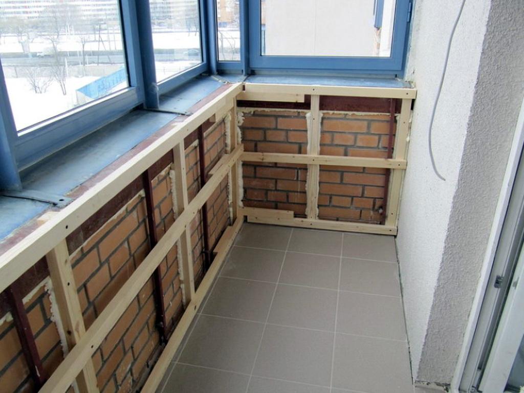 Как обшить балкон своими руками - обшивка балконов.