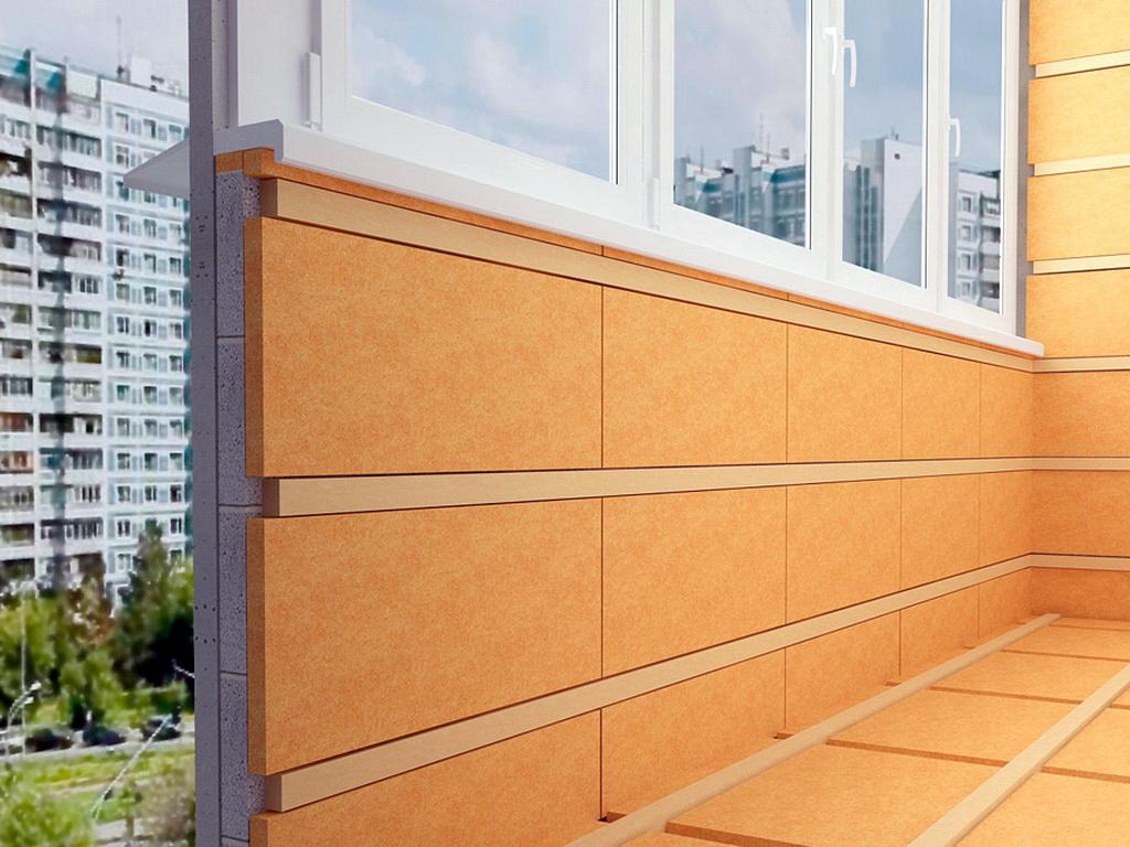 Лучшие материалы для утепления балкона.