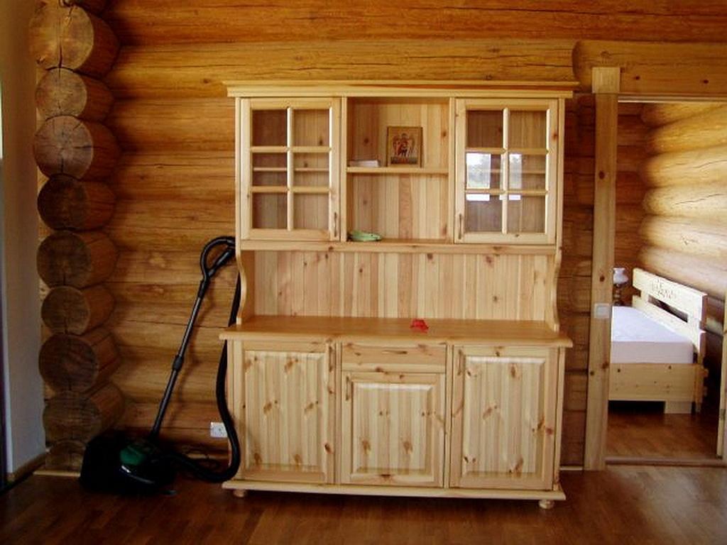Мебель своими руками из деревянного щита.
