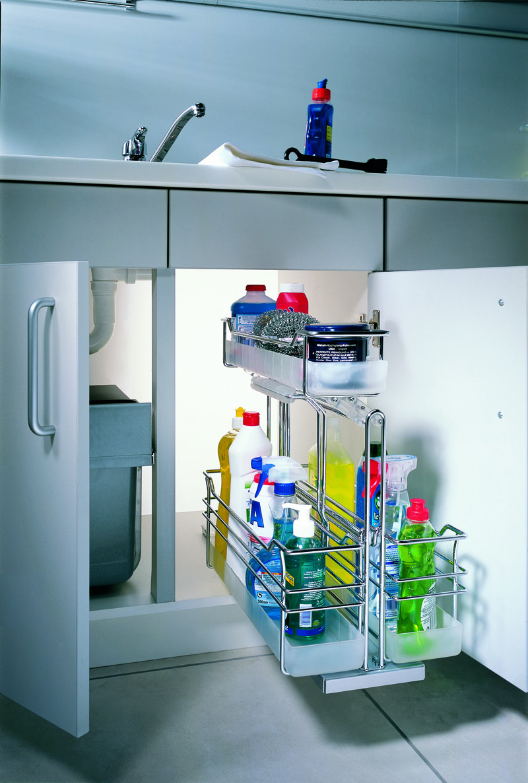 Как сделать выдвижной ящик в кухонном шкафу