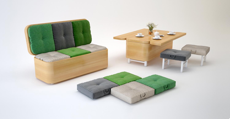 Мебель-трансформер: выбор для малогабаритной квартиры rmnt.r.