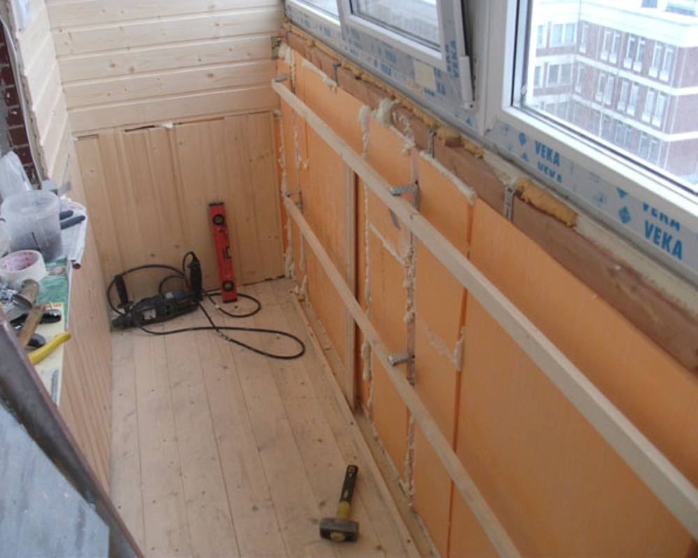 Как самостоятельно утеплить балкон? - comfort-da.ru.