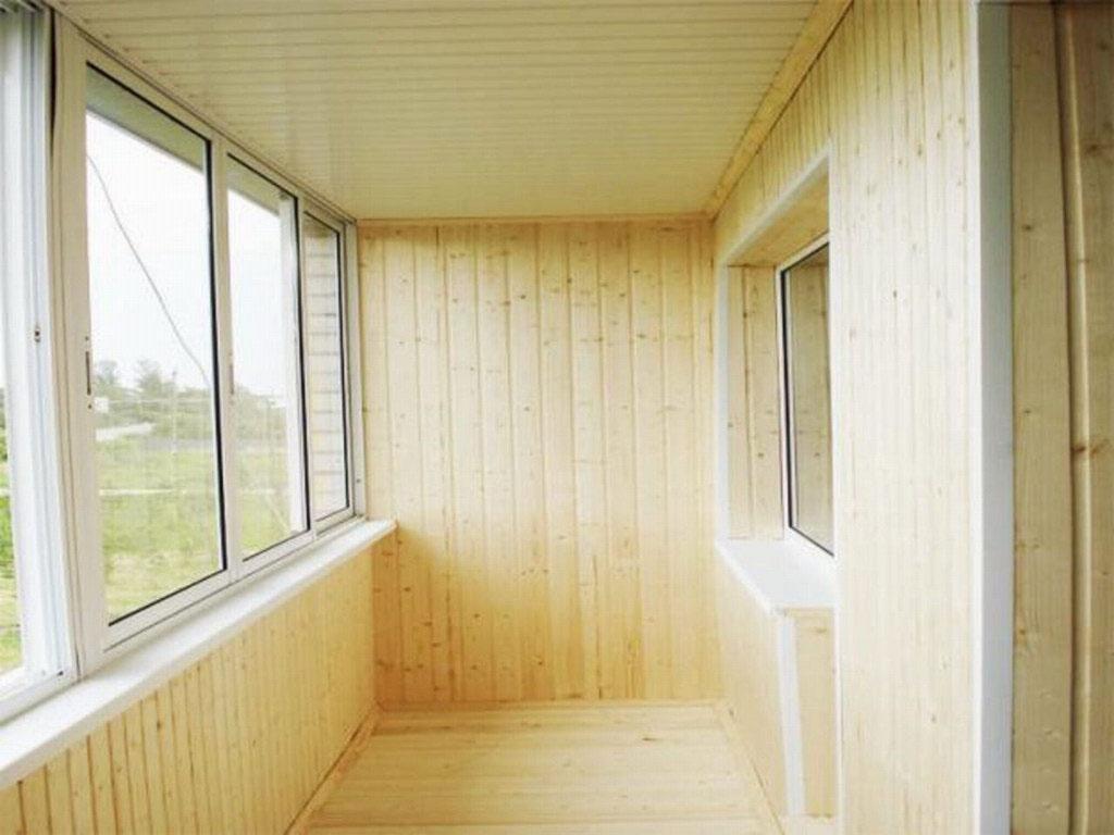 Отделка балкона вагонкой (89 фото): как обшить своими руками.