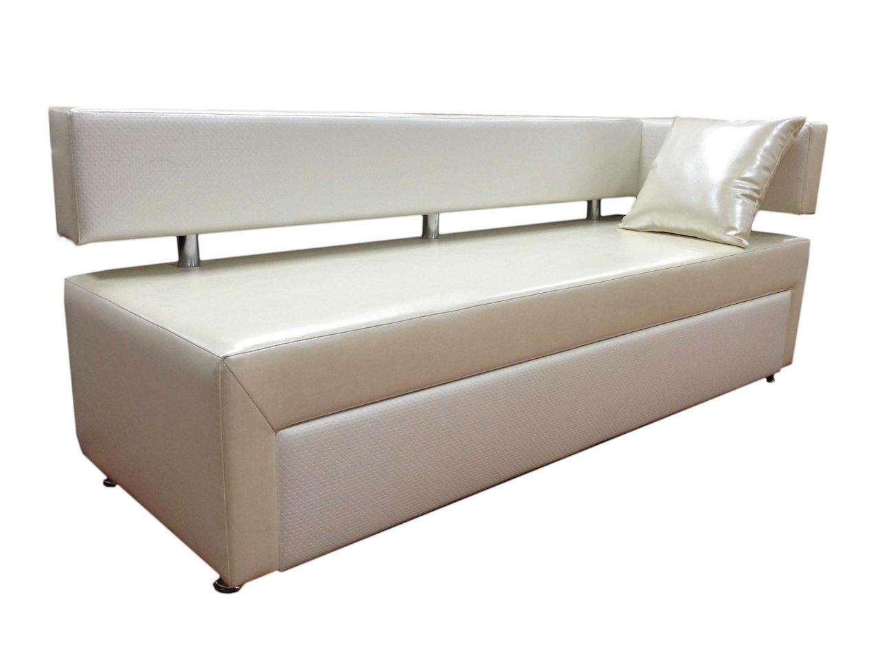 Прямой диван спальным местом на кухню