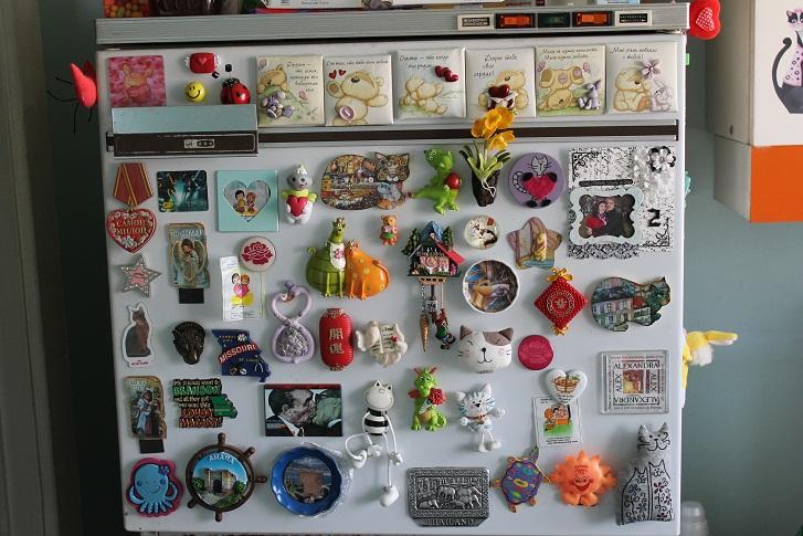 Акриловые магниты на холодильник своими руками 69