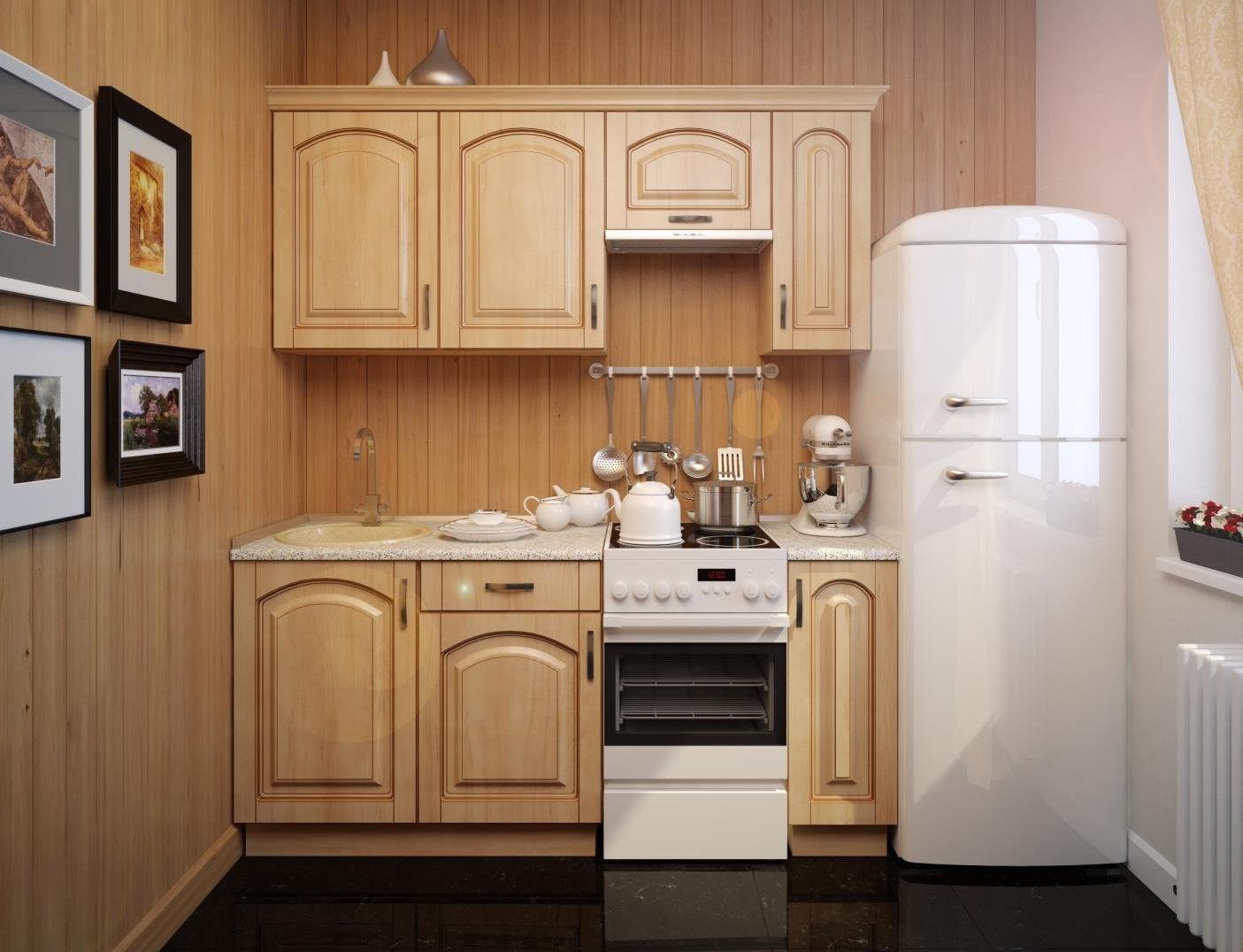 Кухонные гарнитуры дизайн для маленькой кухни
