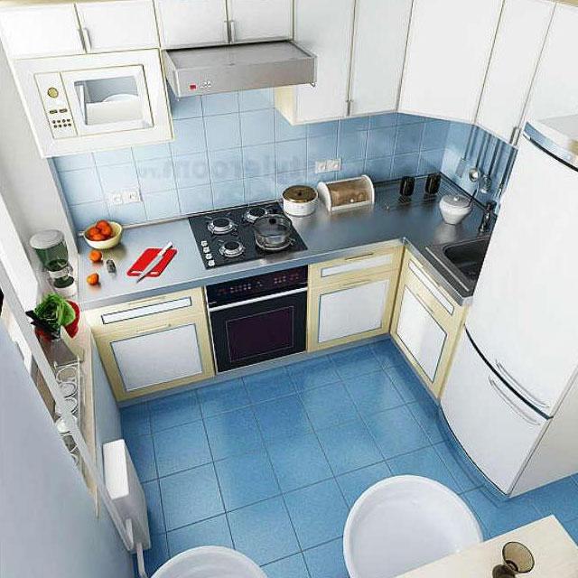 Дизайн кухни 4 кв.м