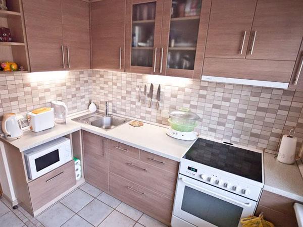 Интерьер кухни 7 кв. метров фото