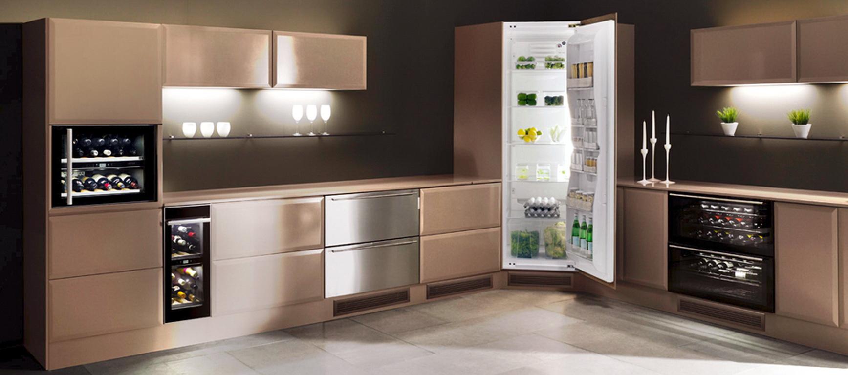 кухни фото дизайн угловые и их схемы с холодильником 1
