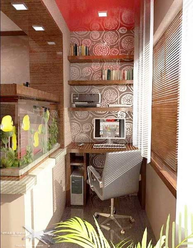 Присоединяем балкон к маленькой кухне - фото удачных решений.
