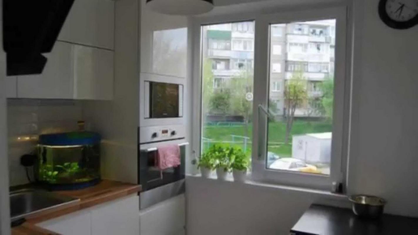 Дизайн кухни в хрущевке с выходом на балкон дизайн кухни - ф.
