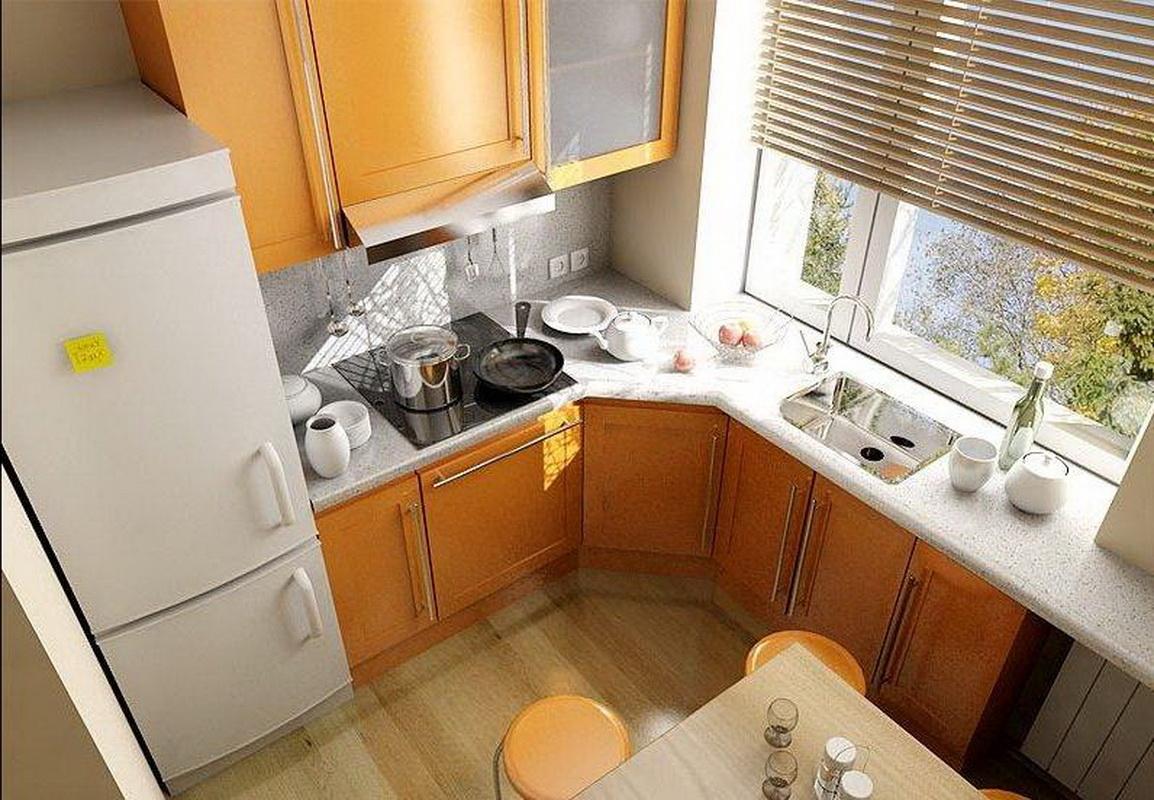 Идеи для кухни 6 кв.м фото своими руками