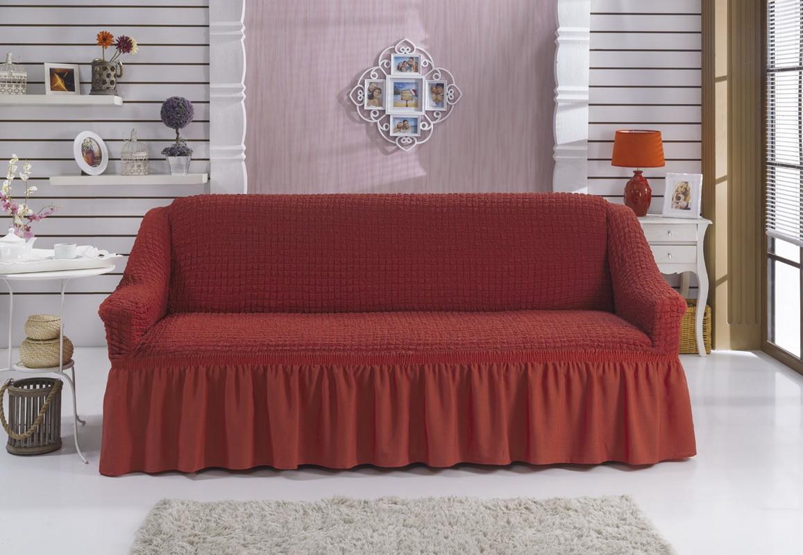 Чехол на диван на резинке своими руками