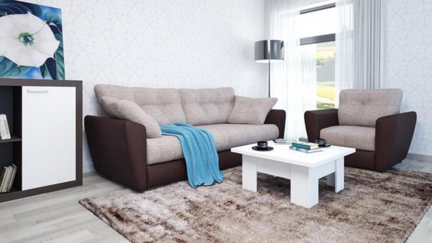 Диваны много мебели в интерьере фото