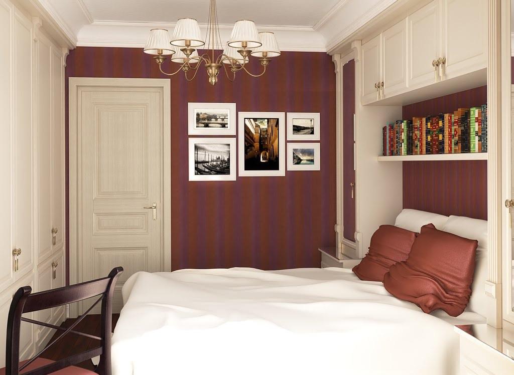 Ремонт в спальне 9 кв.м