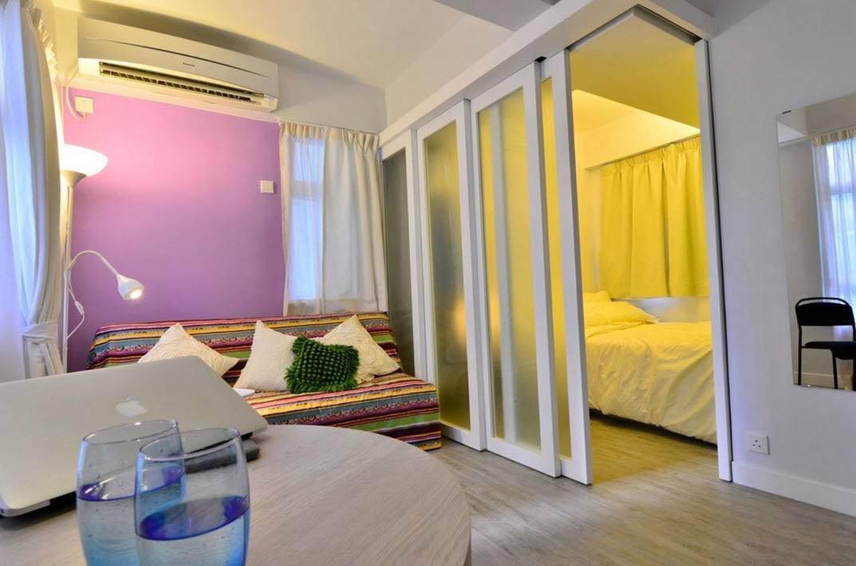 Фото как из одной комнаты сделать две спальни