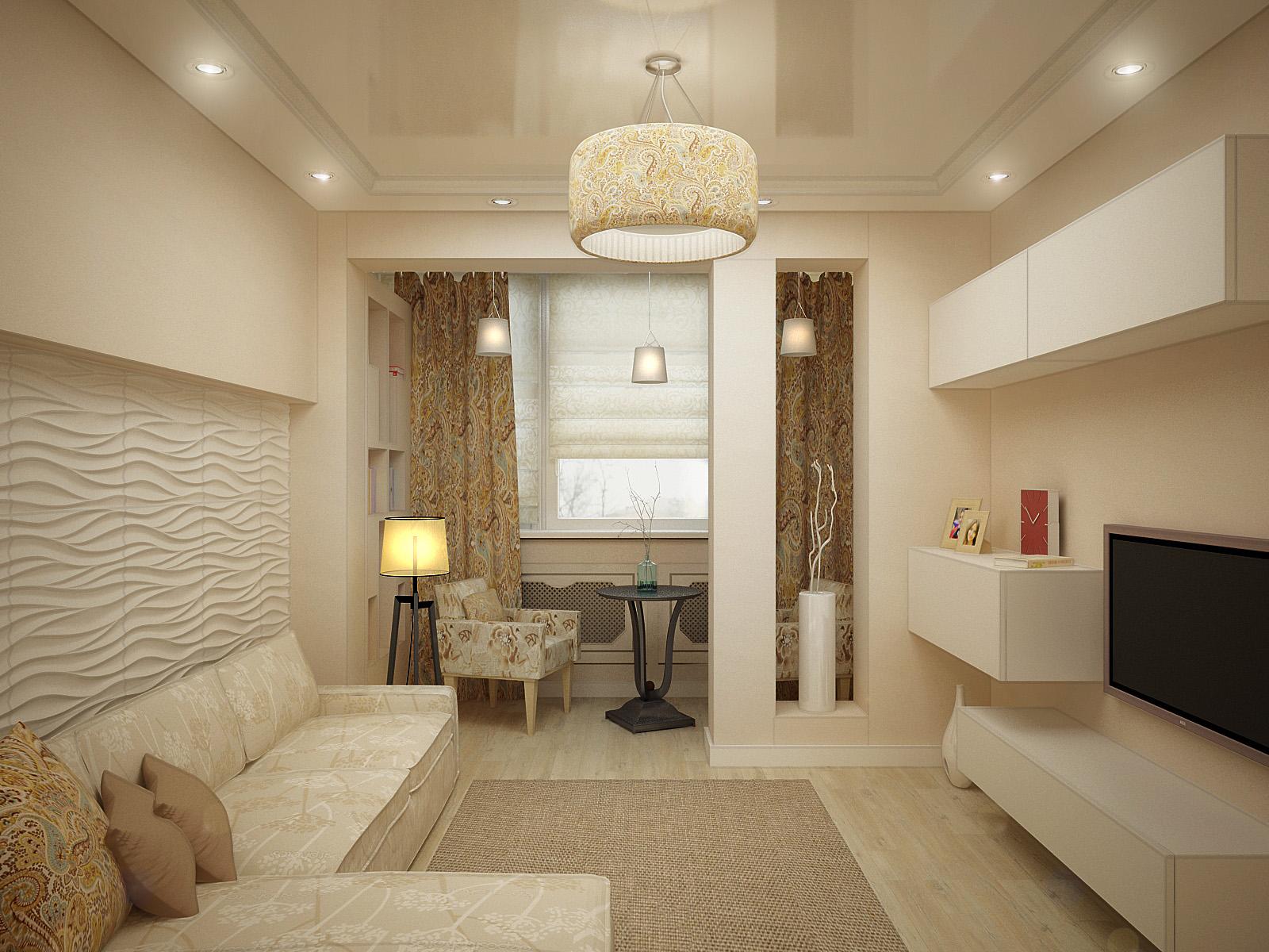дизайн зала 20 кв м в квартире фото 3