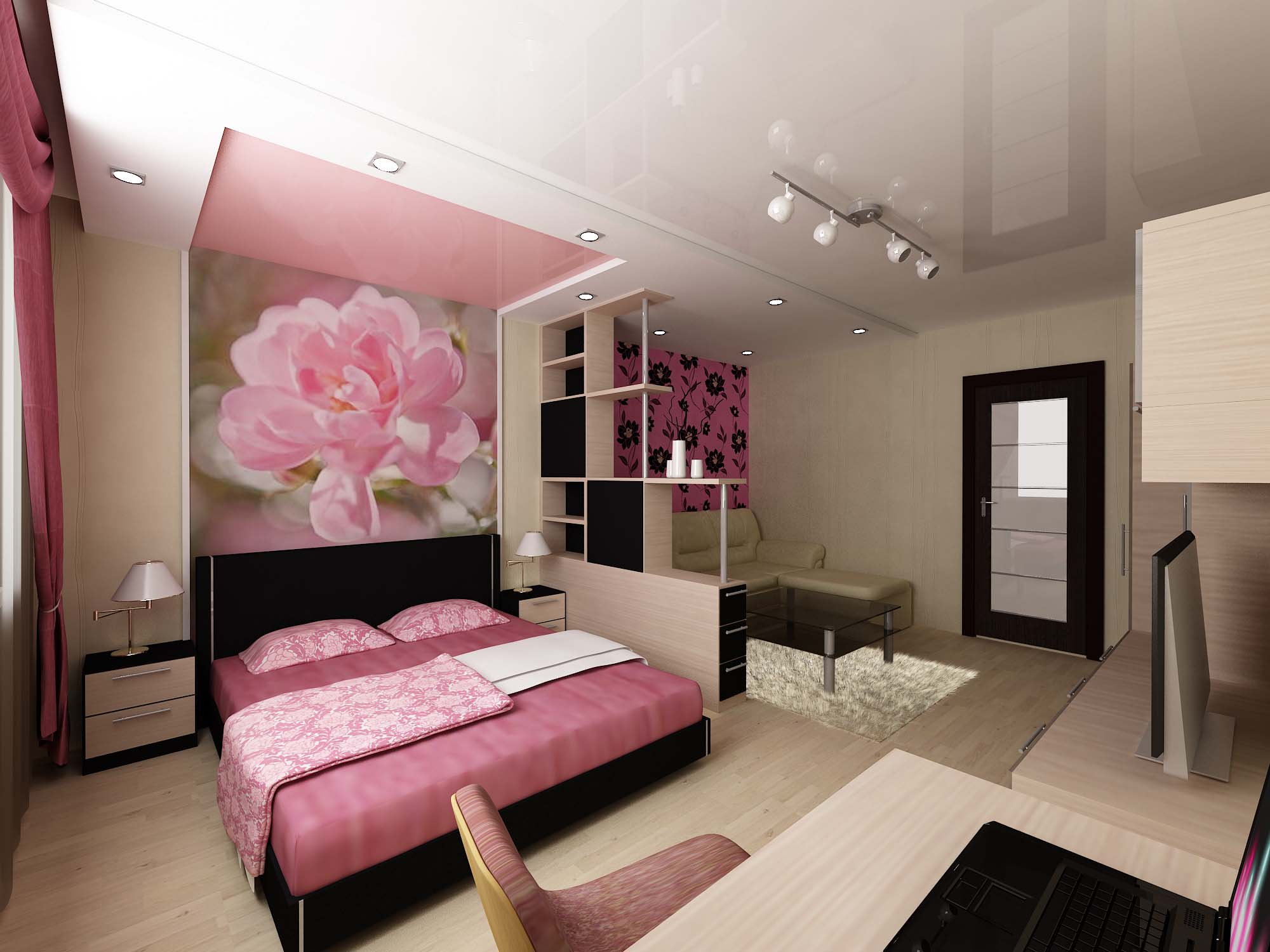 Дизайн кухни гостиной 20 квм с зонированием