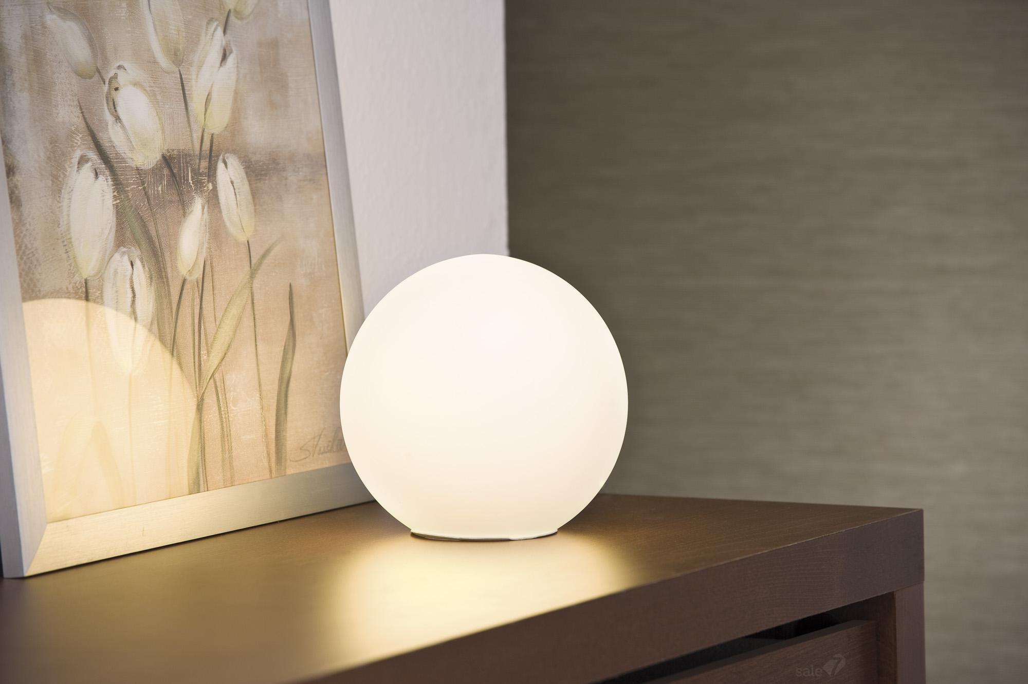 Напольные светильники шары в интерьере фото