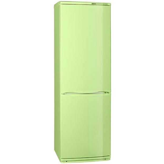 Холодильник цвета салатового цвета