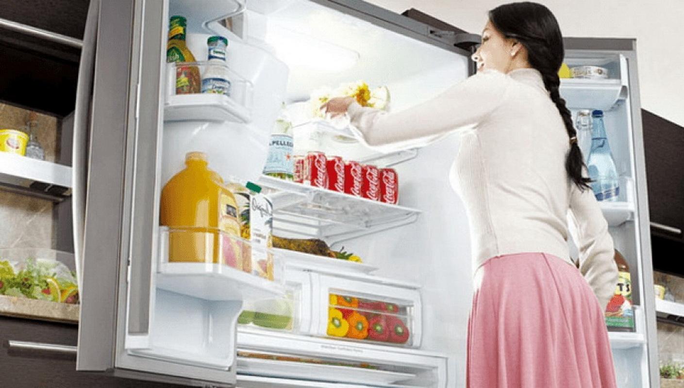Холодильник с большой морозильной камерой: небольшая модель .