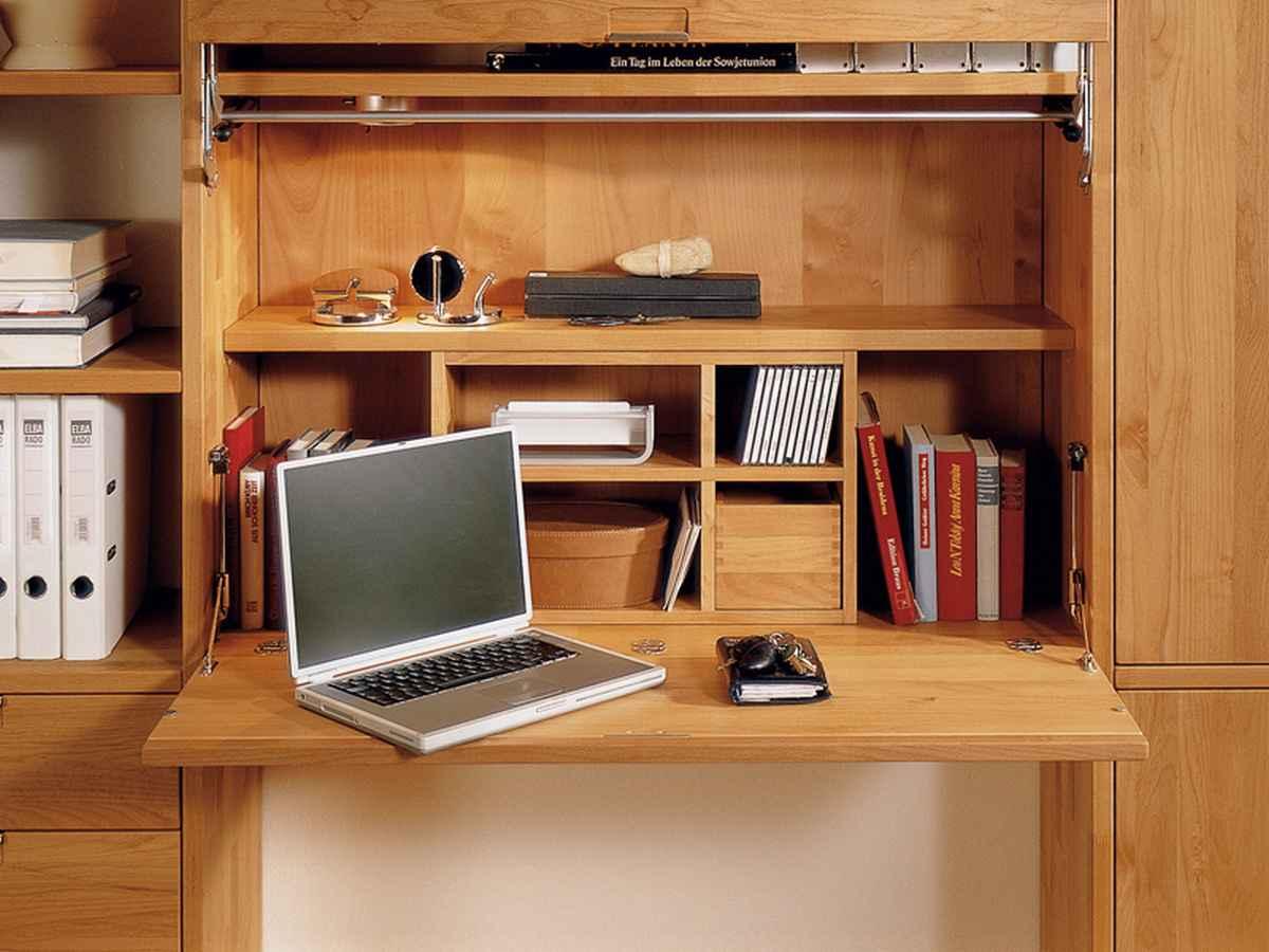 Стол встроенный в шкаф своими руками
