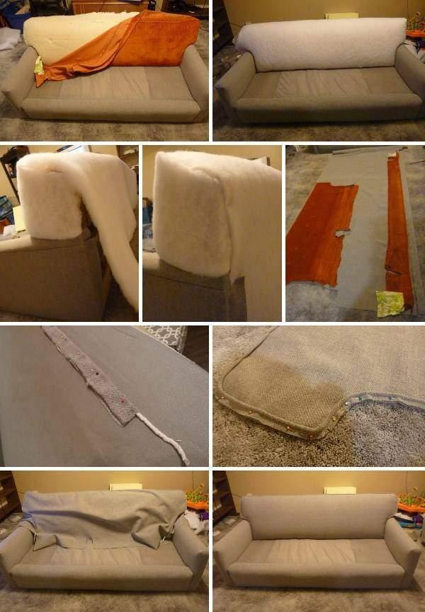 Старый диван своими руками 833