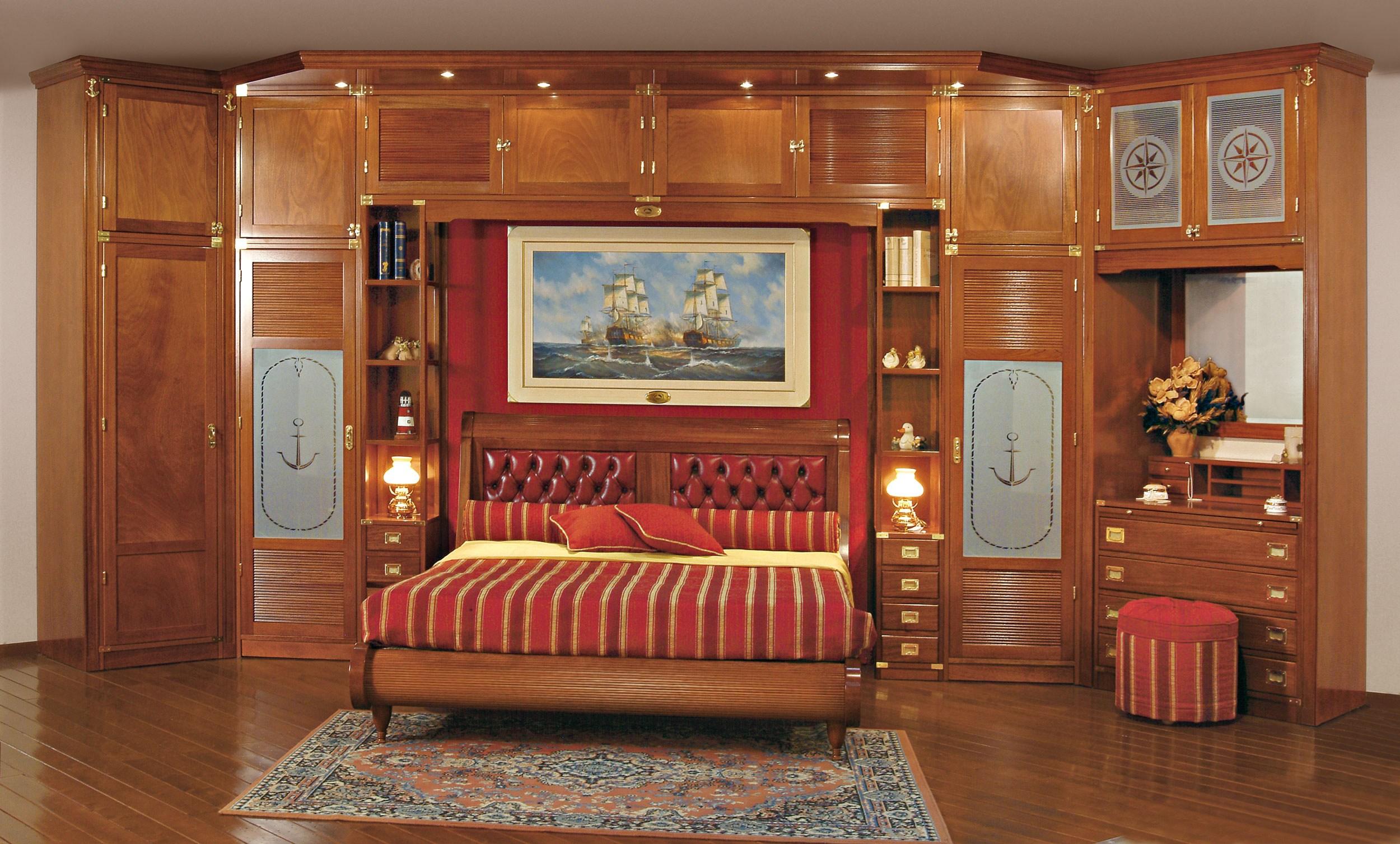 Спальня (гарнитур для спальни) с системой хранения vecchia m.