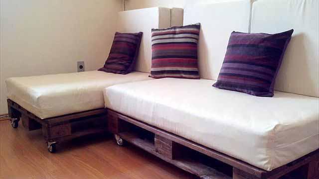 Изготовление мебели из паллет