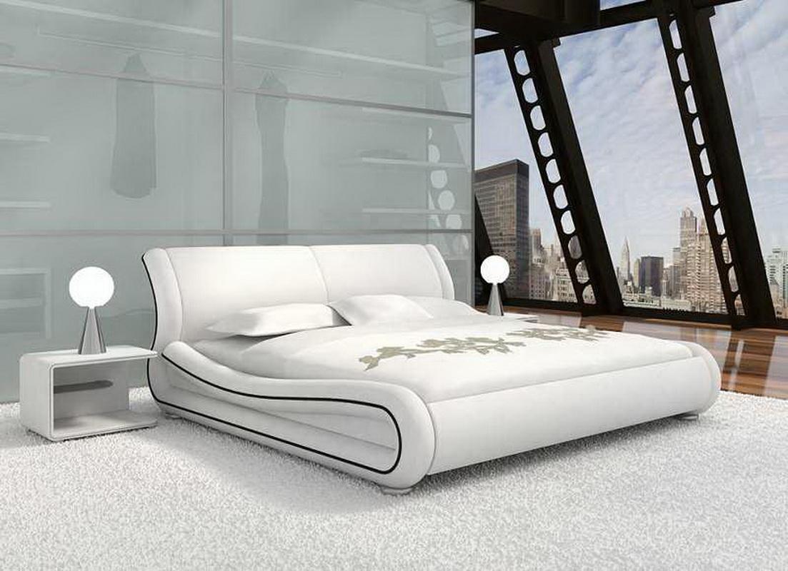 белая спальня в современном стиле фото