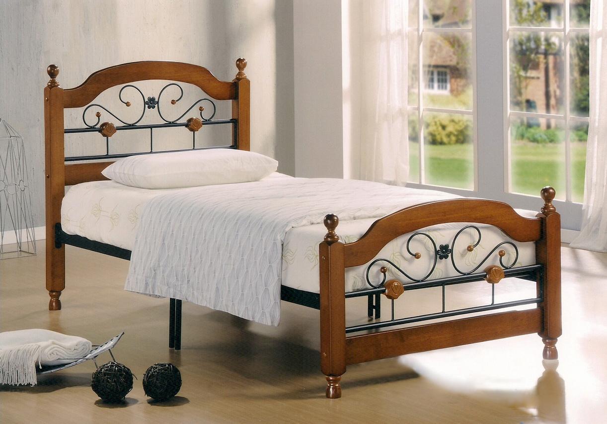 деревянные односпальные кровати изделия из массива сосны мебель из