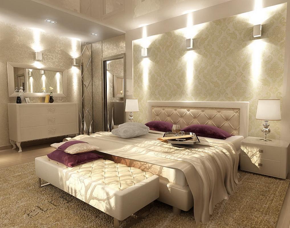Дизайн спальни на 20 квм