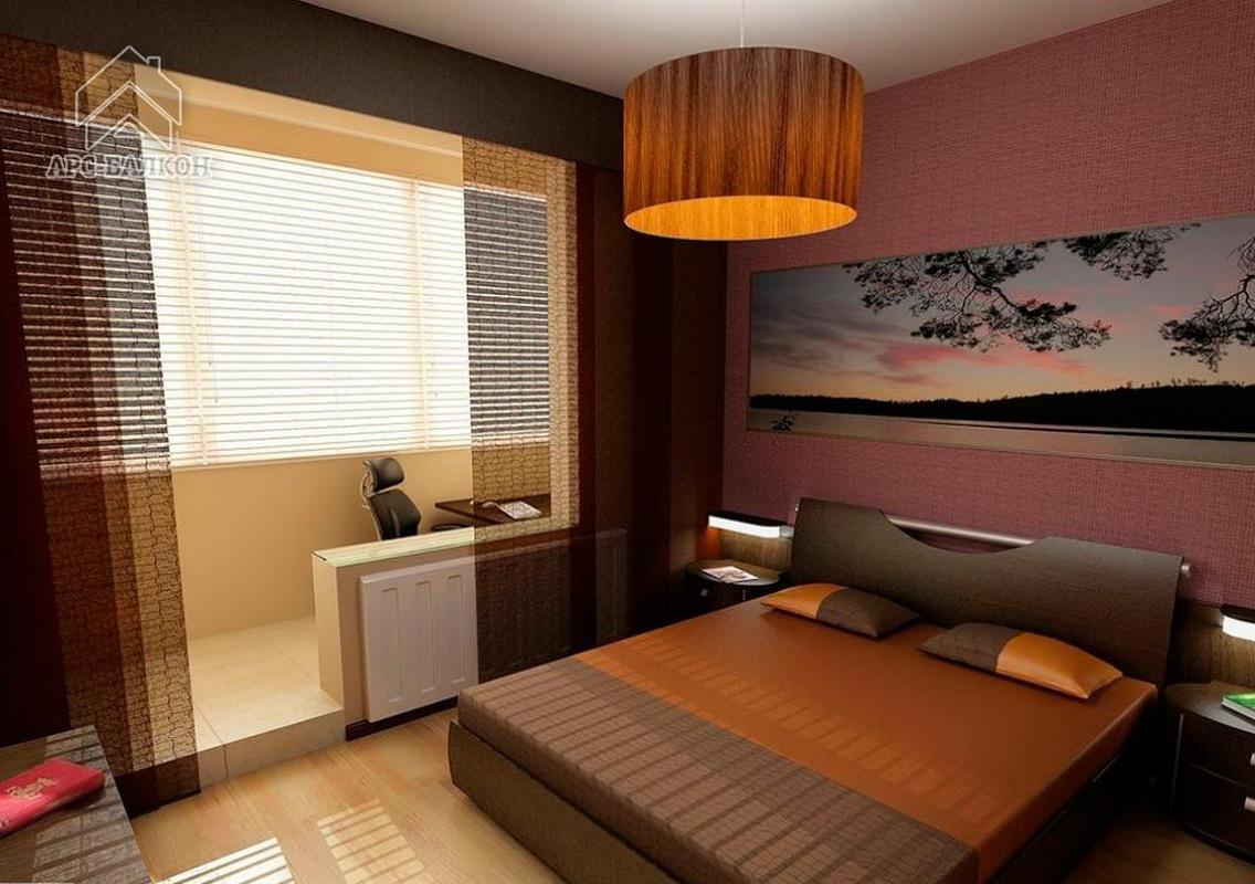 """Дизайн интерьера спальни с балконом"""" - карточка пользователя."""